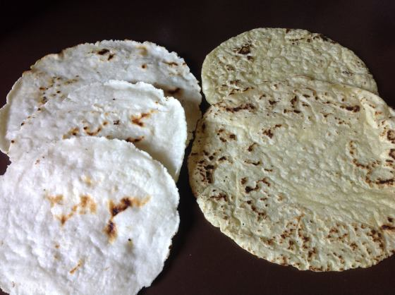 gluten free rice tortilla