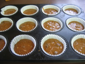 bran muffins by the pail full - gluten free 001