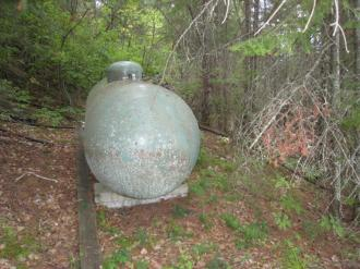 leased propane tank fill up every 3-5 years